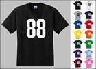 Number 88 Eighty Eight T-Shirt