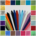 plain cotton poplin fabric  loads of colours 44 inches wide * per half metre