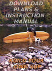 INSTANT DOWNLOAD Build Your Own Hollow Wood Stand-Up Paddleboard 11' SUP Plans