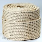 QUALITY SISAL DECKING/GARDEN/BARRIER/ ROPE VARIOUS LENGTHS FROM 6mm TO 28mm