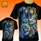 Siberian White Tiger Pack  Bengal  T-SHIRT Top New