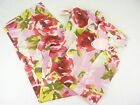 Peter Alexander Womens 'Red Rose Floral' Silk PJ Set BNWT- Choose Size