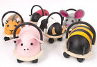 WHEELYBUG WHEELY BUG BABY TODDLERS RIDE ON CAR PUSH ALONG TOY ANIMAL PIG BEE COW