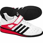 Adidas Power Perfect II  Weightlifting Shoes White/Blk/Red