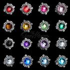 1 Diamond Gem Napkin Ring Serviette Holder Wedding Party Dinner Decor Hot Colors
