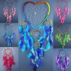 XL HEART DREAM CATCHER large dreamcatcher SILVER WEB