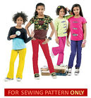 SALE! SEWING PATTERN! MAKES GIRLS TOP/SHIRT~PANTS! T-SHIRTS! SCHOOL~PLAY CLOTHES