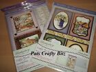 Hunkydory Cottage Garden Topper Sheets & 2 A4 Accent Foiled Cards Various Design