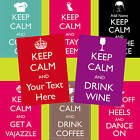 Keep Calm Personalised Poster *Any Colour*Any Phrase* Various Sizes FREE Draft