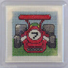 Cross Stitch Frame: Coaster / Fridge Magnet/ Napkin Ring/ Glitter Dome/ Key Ring