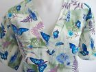 XS S M L XL TURQUOISE ROYAL BLUE BUTTERFLY SCRUB TOP OLIVE GREEN LILAC PURPLE