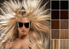 selectable full head Premium clip in real human hair extensions 8pc 80g on sale
