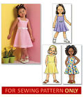 SEWING PATTERN! MAKES SUN DRESS! TODDLER 2 TO CHILD 8! SUMMER CLOTHES! EASY!