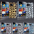 NEW LEOPARD GRIP SERIES CASE FITS SAMSUNG GALAXY S2 I9100 FREE SCREEN PROTECTOR