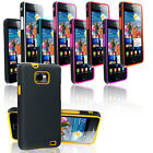 NEW HYBRID CASE COVER FITS SAMSUNG GALAXY S2 I9100 FREE SCREEN PROTECTOR
