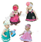 (0-24M) Baby Girl Stunning Colourfule Ruffle Dress for Summer Party / Occasion
