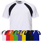 ililily New Mens Sports Round Neck Casual T-shirts Baseball Coolon S~3XL nwt 011
