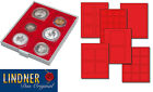 Lindner double height coin trays,  various inserts - 18.5mm internal height - NEW