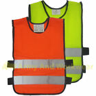 Tabard Hi Viz Safety Kids Vest Childrens Junior School Horse Waistcoat Jacket