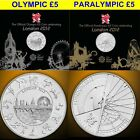 Royal Mint UK £5 Olympic/Paralympic BU COIN Crown New/Sealed Five Pounds