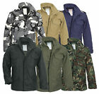 Mens M65 US Army Field Jacket Military Outdoor Quilted Parka Liner Work Coat
