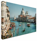 Venice Basilica Santa Canal Canvas Wall Art Picture Large + Any Size