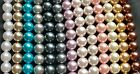 20pcs x 18mm Faux Pearl Beads Large Size In13 Colours for Craft Jewellery Making