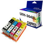 364XL COMBO-PACK 4 x 364XL INK CARTRIDGES FOR PHOTOSMART PRINTER WITH CHIP