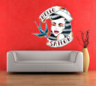 Wall Art sticker  0141 Full Colour Tattoo Rockabilly, Sailor Jerry - Ed Hardy