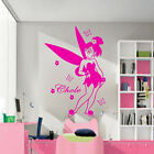 Disney Fairy Tales Personalized Name Vinyl wall art stickers Nursery wall Decals