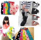 New Kids Toddlers Girls Soft Knee High School Socks 2-8Y Tights Dot