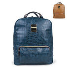 ♥Hot Item♥Korean Women Girls Trendy  Snakeskin pattern Square BACKPACK(3146)