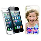 Personalised Apple iPhone 5 - Protection Hard Case / Cover Any Photo Design Text