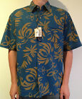 HONOLUA. Mens Hawaiian Print Casual Shirt. 100% Cotton. RRP $79.95 S, M & XL.