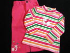 NWT GYMBOREE CHEERY ALL THE WAY 2PC SET Size 18 24 m 3T 4T Cord Pants Turtleneck
