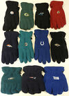 NWT NFL Reebok Team Apparel Fleece Winter Gloves NEW!! on eBay