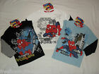 BNWT spiderman long sleeved top / t-shirt.3-10yrs