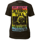 NEW Jethro Tull Albert Hall Vintage Faded Look Poster Rock Size T-shirt top tee