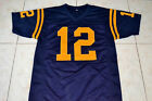 ROGER STAUBACH #12 NAVY FOOTBALL JERSEY NEW NAVY BLUE - ANY SIZE