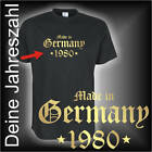 Made in Germany...  Geburtstags Fun T-Shirt (FSG070)