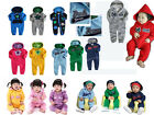 Baby Boy Girl Sport Suit Zip Up Style (Hip Hop Tracksuit w Hoods) 0-24M Outfit