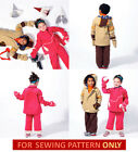 SEWING PATTERN! MAKE BOY~GIRL JACKET~PANTS~MITTENS! TODDLER 1 TO CHILD 6 CLOTHES