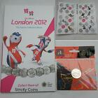 Official Olympic 50p SPORT COIN ALBUM Folder Completer Medallion 2012 Royal Mint