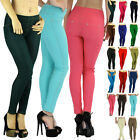 Choose A Comfy Soft Seamless Stretch Knit Skinny Jean Legging Diamond Pants