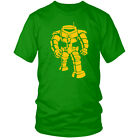 The Big Bang Theory Shelbot Green T-Shirt All Sizes Sheldon Comedy Funny New