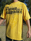 NEW AUTHENTIC MEN'S CROWN HOLDER YELLOW / BLACK COLOR T-SHIRTS