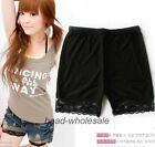Women's Lace Summer Shorts Leggings Render Pants Tights Bottoms Under Trousers