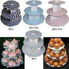 "Внешний вид - 12"" cupcake stand 3-tier cupcaketree zebra party favor wedding baby shower 1pc"