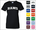 Rams College Letter Woman's T-shirt
