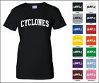 Cyclones College Letter Woman's T-shirt